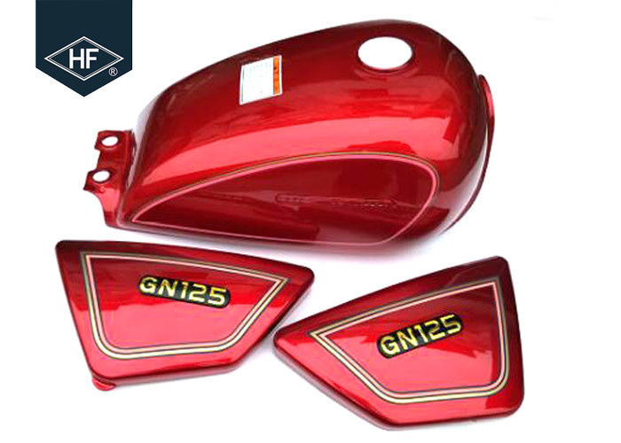 Standard Size GN125 Other Motorcycle Parts Custom Color Iron 9L Motorcycle Fuel Tank